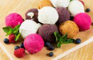 Мороженое с пробиотиками и ягодами годжи