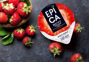 Компания Ehrmann запустила в продажу йогурты под новым брендом «Epica»