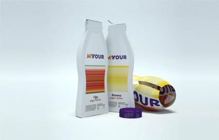 Йогурт «Myour» легко поделить на двоих