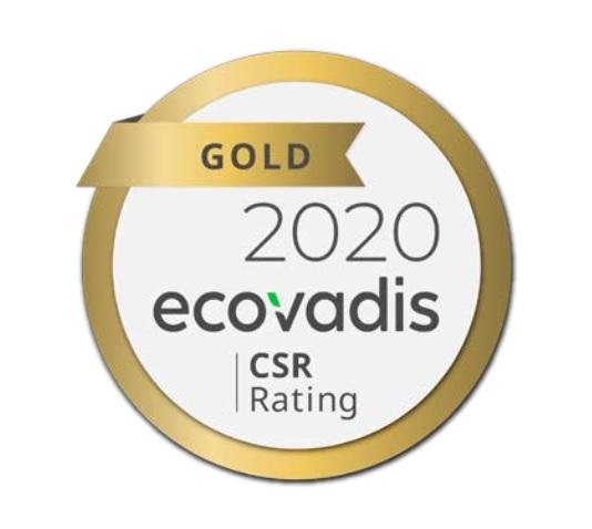 Компании Ecolean присвоили золотой статус в мировом рейтинге устойчивого развития EcoVadis