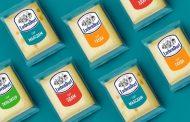 Getbrand обновили дизайн упаковки сыров