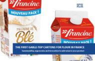 Упаковка GABLE TOP для муки впервые во Франции